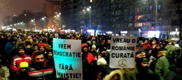 Proteste istorice ale românilor în țară și Europa
