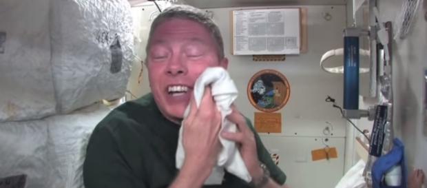 Un astronauta en la Estación Espacial Internacional.