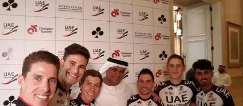 Ciclismo, addio alla Lampre: nasce la UAE Abu Dhabi Cycling Team