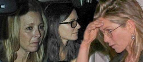 Courteney Cox breaks 'girl code' swooning over Brad Pitt and Jennifer Anistion annoyed? Photo: Blasting News Library - no tribute