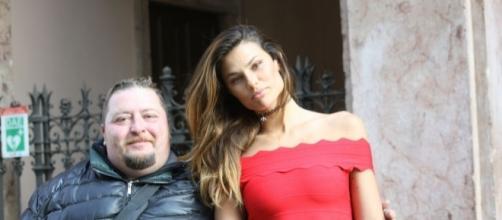 Dayane Mello con il paparazzo Capponi Paolo