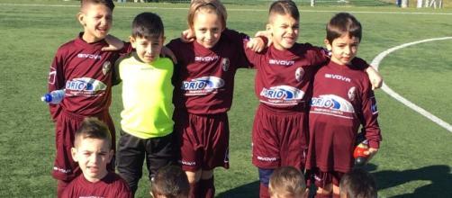 I piccoli calciatori dell'Academy Casalnuovo, categoria 2010