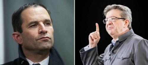 Présidentielle: Guerre froide entre Hamon et Mélenchon