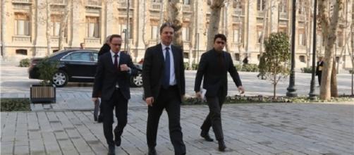 Reza Hakan Takin Turkish ambassador to Tehran