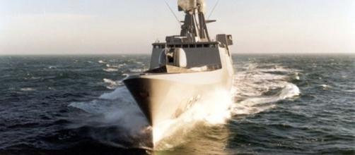 Royal Saudi Navy's HMS Al Jawf at NAVDEX 2015 | Al Defaiya - defaiya.com