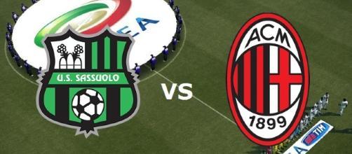 Sassuolo Milan 26esima giornata di Campionato.