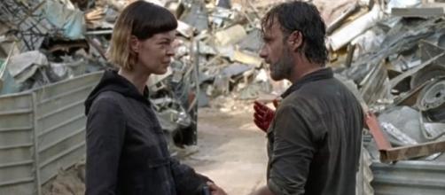 What does Jadis think of Rick Grimes on 'The Walking Dead?' - Image via Daryl Dixon/Photo Screencap via AMC/YouTube.com