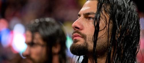 WWE - Roman Reigns still under that smoke screen? Photo: Blasting News Library - inquisitr.com