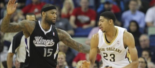 DeMarcus Cousins and Anthony Davis have teamed up - Photo via Crystal LoGiudice - aroyalpain.com