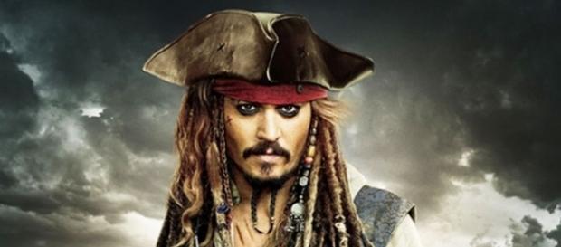 Jack Sparrow in I Pirati dei Caraibi - la vendetta di Salazar