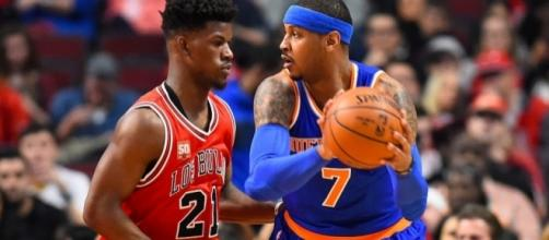 Butler and Carmelo are both possible trade pieces as the Thursday deadline is approaching -hoopshype.com