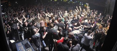 Imagen del concierto publicada en facebook