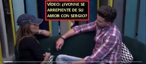 Imágenes exclusivas de la charla en la que Ivonne parece arrepentirse de su amor con Sergio