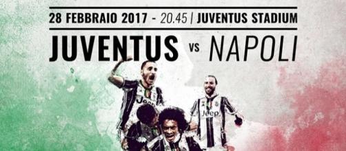 Juventus-Napoli di Coppa Italia 2017
