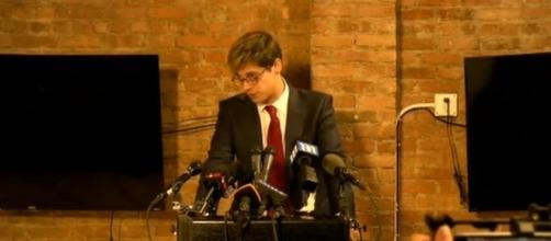 Milo Yiannopoulos during press conference, via YouTube