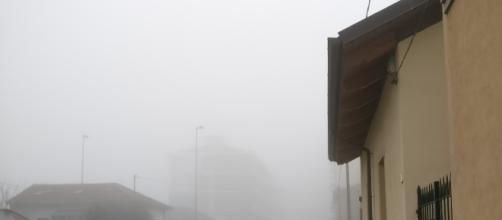 Nebbia ed inquinamento stamattina a Torino.