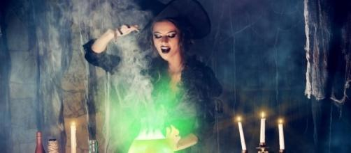 Spell casting witch via mic.com