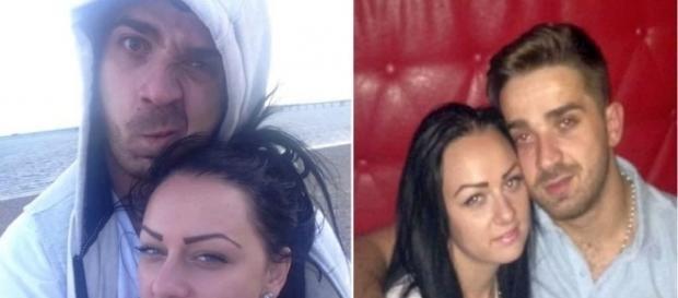Alin Apopei, alături de iubita sa pe care a ucis-o, Denisa Silman