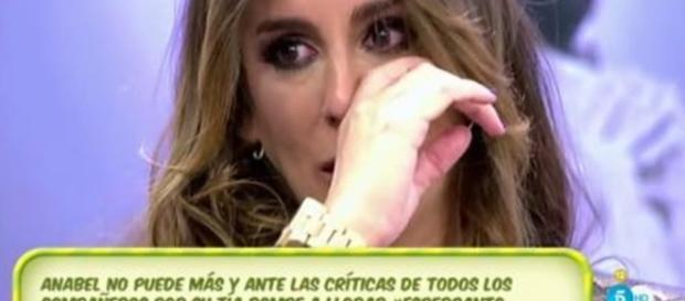 Anabel Pantoja, destrozada por las críticas a su tía - lecturas.com