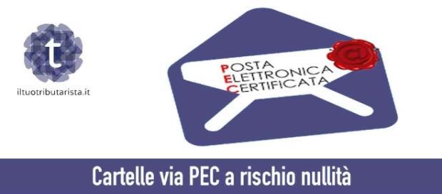 Cartelle via PEC a rischio nullità - Il tuo tributarista - iltuotributarista.it