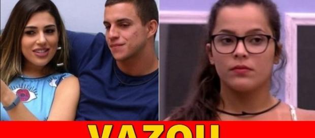 Emilly, Manoel e Vivian disputam o paredão de reality show - Google