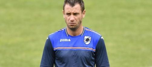Antonio Cassano, ha rescisso da poco con la Samp