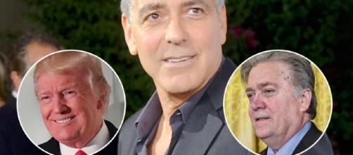 George Clooney Rips 'Failed Screenwriter' Steve Bannon, Donald ... - toofab.com