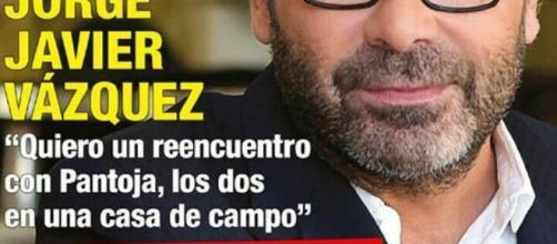 Jorge Javier en la portada de diez minutos