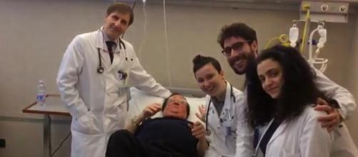 Leone Di Lernia ricoverato in ospedale