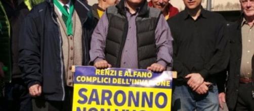 """Manifesti contro i """"clandestini"""" a Saronno, sarà Matteo Salvini ... - milanotoday.it"""