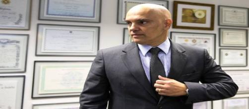 Moraes foi sabatinado no Senado Federal