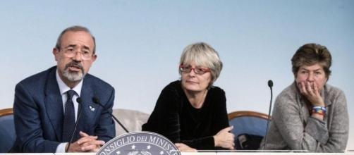Riforma pensioni, dichiarazioni di Camusso, Furlan e Barbagallo dopo incontro con Poletti - foto dire.it