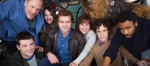 The cast of the untitled Star Wars Han Solo film takes first group ... - dorksideoftheforce.com