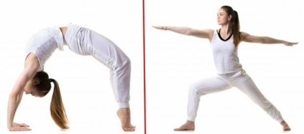 Algumas posições de Yoga ajudam a deixar os seios formosos e a saúde em dia