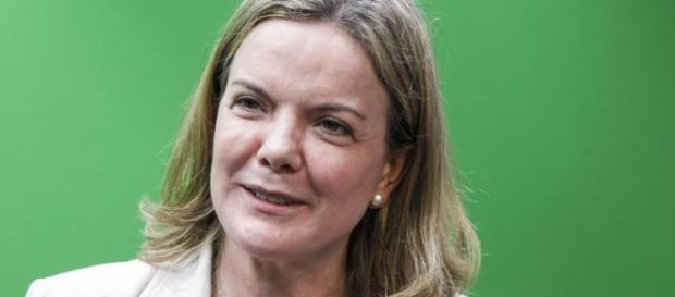 Gleisi Hoffmann criticou escolha de Moraes