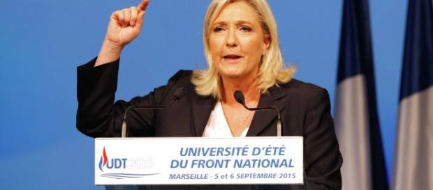 Marine Le Pen, leader del Front National.
