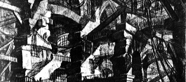 Stampa di Pirenesi sulle carceri