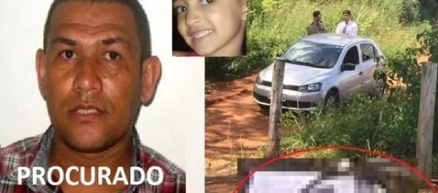 Suspeito de matar menina de 7 anos em Goiás é procurado pela Polícia Civil