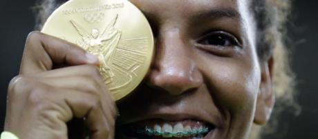 Rafaela Silva, campeã olímpica de judô - Danilo Verpa