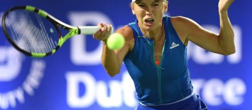 Dubai Duty Free Tennis Championships Day 2: Caroline Wozniacki ... - thenational.ae