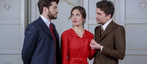 Hernando, sua moglie Camila e Elias