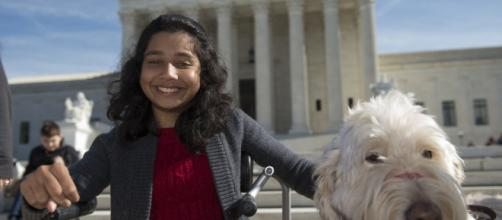 Justices sympathetic to girl suing school over service dog | News OK - newsok.com