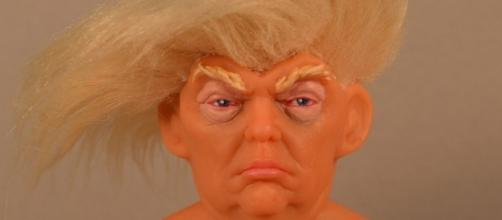 Look what they did to Donald Trump -Trump Troll Doll! Photo: Blasting News Library - rwstory.com