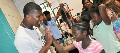 Tampa Bay QB Jameis Winston during a public appearance #AndretheBlogger/Flickr