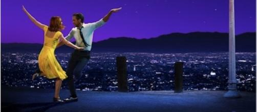 Theatrical poster for 'La La Land' with Best Actress nominee Emma Stone (Photo courtesy: Lionsgate)