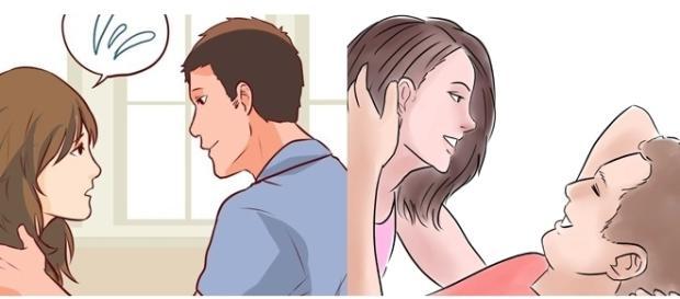 A maioria dos homens sente vergonha de pedir certas coisas ( Foto - WikiHow )