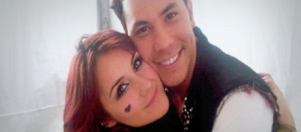 Dulce e Christian são amigos, mas alguns fãs da cantora não gostam de Chavez (Foto: Reprodução)