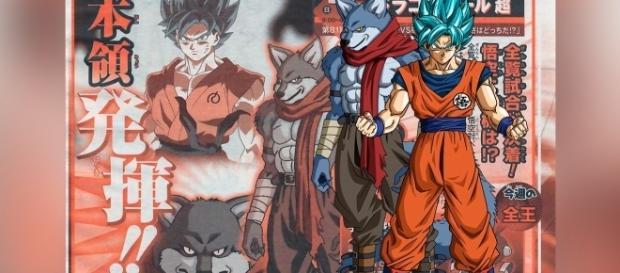 Goku vs Bergamo ¡la batalla final!.
