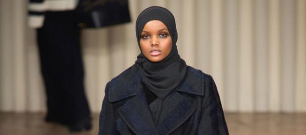 Halima Aden alla Milano Fashon Week