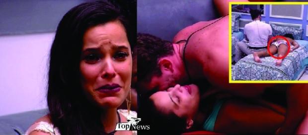 Marcos faz pedido erótico a Emilly e ela nega